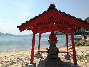 Nice ocean view in Ikuchi-jima