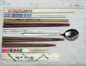 chopsticks in different countries