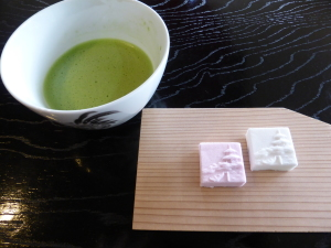 抹茶と和菓子 Maccha and Japanese sweets