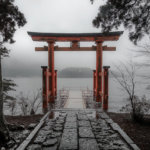 hakone in the rain